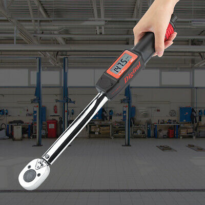 "1/2"" Digital Llave De Torque Con Angle Function Ratchet Workshop Tool 20-200Nm"