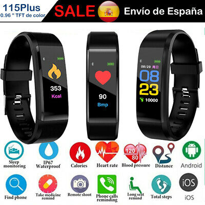 Band Pulsera Reloj Inteligente Smart Watch SmartWatch Sport Fitness Android IOS
