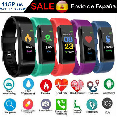 Pulsera Reloj Inteligente Smart Watch Band SmartWatch Sport Fitness Bluetooth ES