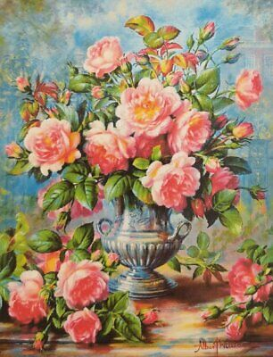 Diamond painting Rozen in vaas