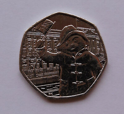 2018 50p Coin Paddington Bear at the Palace Collectable Fifty Pence