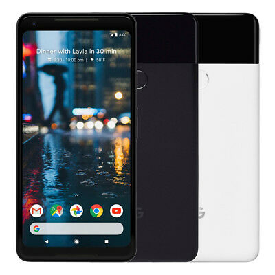 Google Pixel 2 XL 64GB Factory Unlocked 4G LTE Android WiFi Smartphone