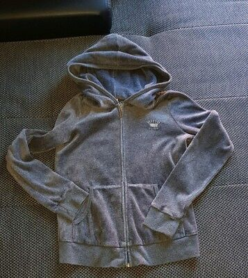 Girls Juicy Couture Hoody Velour Age 10