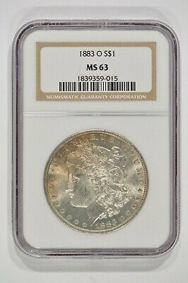 1883-O Morgan Silver Dollar $1 NGC MS63 1839359-015
