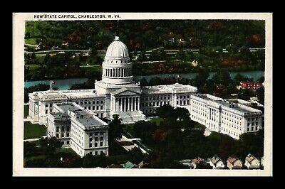 Dr Jim Stamps Us Postcard Charleston West Virginia New State Capitol