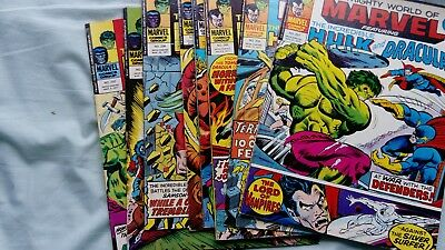 planet of the apes/dracula lives comics x8 feat the incredible Hulk