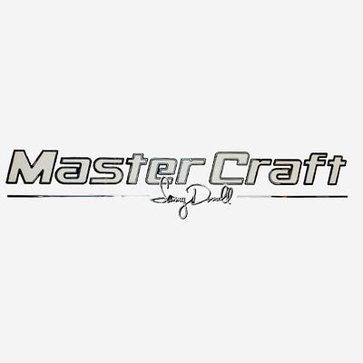 Sammy Duvall Boat Raised Decal 758438 | MasterCraft  Ivory/Mirror/Black