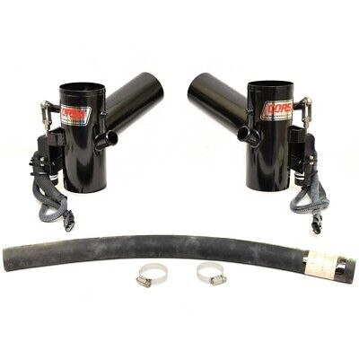 Corsa Boat Electric Exhaust Diverter P82350 | Crownline 4 Inch (2PC)