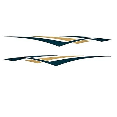 RINKER SIESTA PORT DECAL VS920902-01-GR GREEN TAN GOLD MARINE BOAT