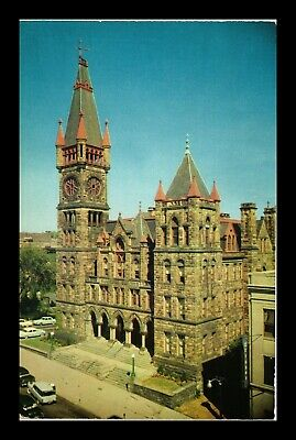 Dr Jim Stamps Us Postcard City Hall Scranton Pennsylvania