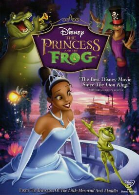 The Princess and the Frog (DVD, 2010) NEW