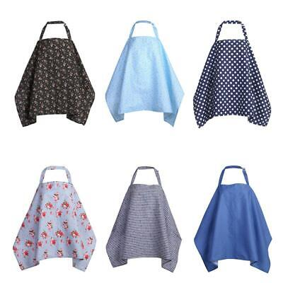 Baby Mum Breastfeeding Nursing Cover Up Infant Poncho Shawl Soft Cotton Blankets