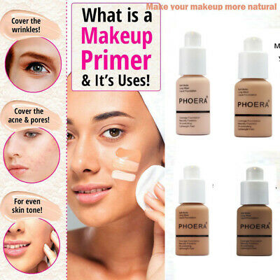 PHOERA Soft Matte Full Coverage Liquid Foundation Skin Care 2019