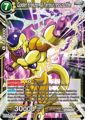 BT1-086 SR : Golden Freezer, la Terreur ressuscitée | Carte Dragon Ball Super FR