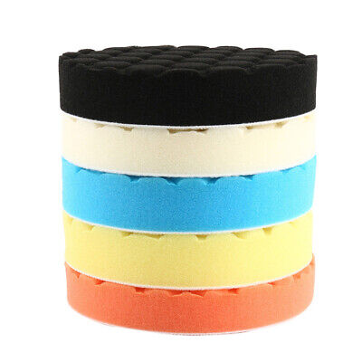 5Ps/set 6 Inch 150mm Hex Type Handwash Polishing Pads Fit For DA Rotary Polisher