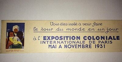 Garde Page: Exposition Coloniale 1931.