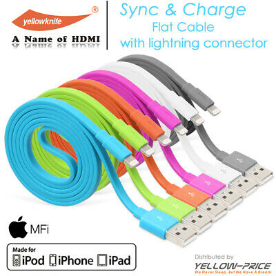 Data USB Cable for lightning Fast Charger Charging Cable for iPhone 5s 6s 7 8 X