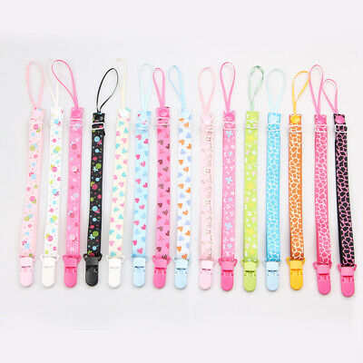 Dummy Pacifier Soother Nipple Leash Strap Rope Band Clip Holders For Baby Kids