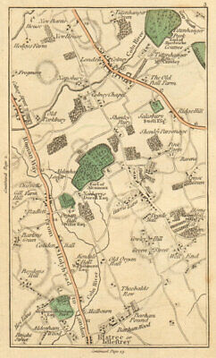 BOREHAMWOOD. Elstree,London Colney Street,St Albans,Radlett,Shenley 1811 map