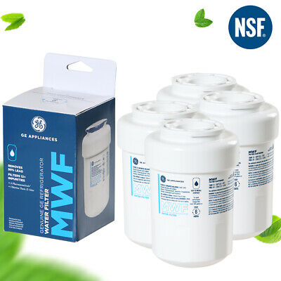 GE MWF MWFP GWF 46-9991 Water Filter Pitcher Smartwater Fridge Filter 1-4Pack