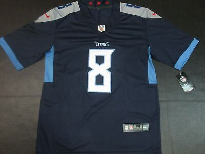 Cheap NEW $75 TENNESSEE Titans Marcus Mariota #8 Nike YOUTH NFL Football  free shipping