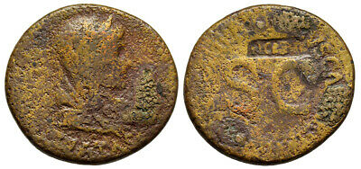 FORVM Livia Wife of Augustus and Mother of Tiberius 23 AD As Pietas 12.614g