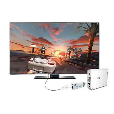 Wii to HDMI Wii2HDMI Full HD FHD 1080P Converter Adapter 3.5mm Game Output Jack