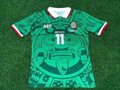 c235550aa Blanco Mexico World Cup 1998 Vintage Soccer Jersey Retro Football Shirt  Classic