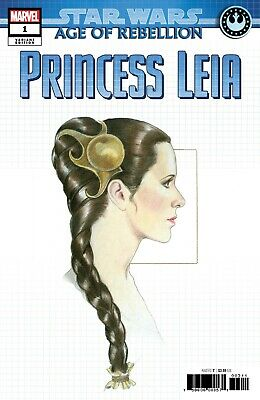 Star Wars Age of Raebellion Princess Leia #1 Concept Variant - Bagged & Boarded