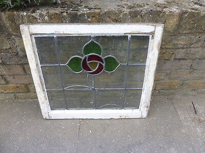 Antique Edwardian stained glass window (no 5)