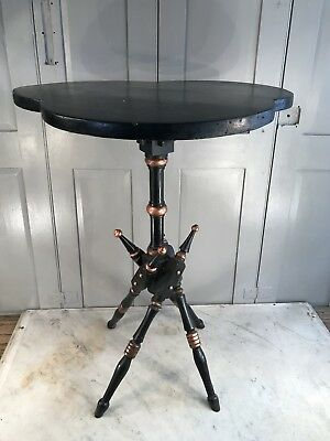 Antique Victorian Gothic style occasional table