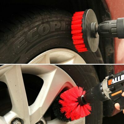 Drill Scrubber Brush For Tile Grout Car Boat Tub Cleaner Scrubber Cleaning Tool