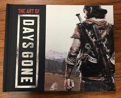 Days Gone Collector's Edition Art Book ONLY PS4 Playstation 4 NO GAME