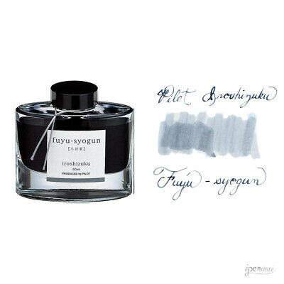 Pilot Iroshizuku 50 ml Bottle Fountain Pen Ink, Fuyu-Syogun, (Rigor of Winter)