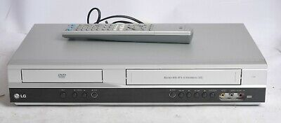 Lg V180 Dvd Player / Vcr Video Cassette Recorder Combi