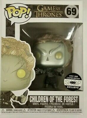 Funko Pop! Game of Thrones Metallic Children Of The Forest NYCC2018 HBO