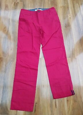 MINI BODEN Boys Cotton Chinos Trousers Size 32R. Age 16-18 years. BRAND NEW