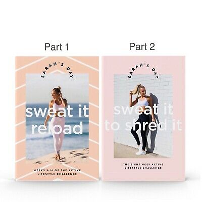 Sarah's Day Sweat it to Shred it Reload (PDF) Workout At Home ~ Digital Book