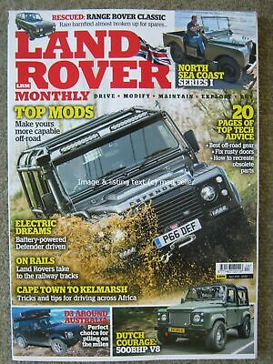 Land Rover Monthly April 2019 Defender TDCi 110 Series I Range Rover Discovery