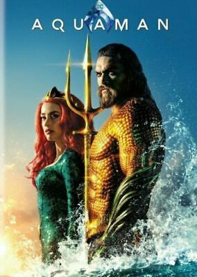 Aquaman (DVD,2018) With Bonus Disc (60 Minutes Bonus Features!!!)