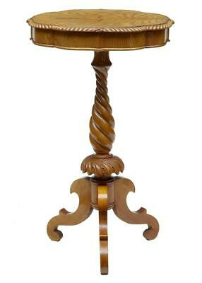19Th Century Small Elm Occasional Table