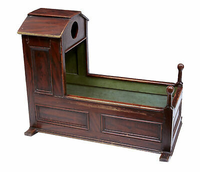 19Th Century Antique Childrens Cot Cradle