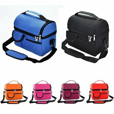 Thermal Insulated Cooler Waterproof Lunch Bag Lunch Box Storage Portable  WS