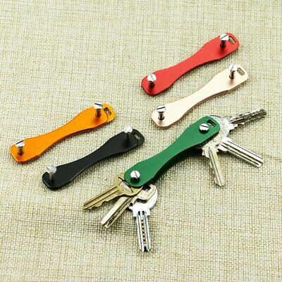 Practical Sticks Keychains Portable Aluminum Keys Holder Key Chains WS