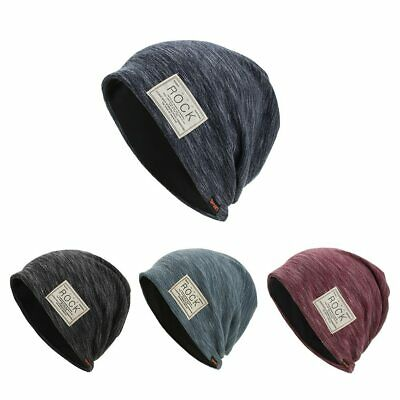 626fa2e440505 Winter Autumn Beanies Hat Unisex ROCK Label Warm Soft Knitting Cap Hats  AKIZON