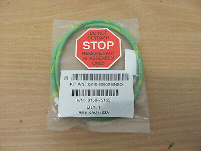 Applied Materials / AMAT - 0150-75165 - Cable GND 2ND TURBO / Kabel
