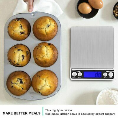 Multifunctional LCD Electronic Digital Scale 0.1G/0.01G Kitchen Weight Scales NC