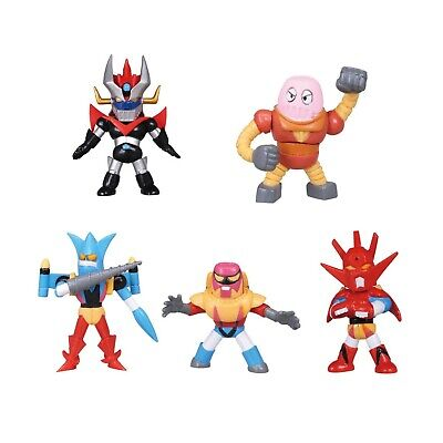 Set 5 Figurine Go Nagai Collection Vol 3 Tomy Getter Boss Robot Great Mazinger