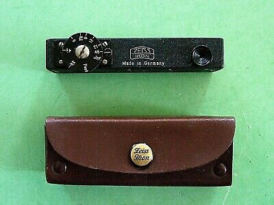 Zeiss Ikon Distance Meter in Leather case with instructions