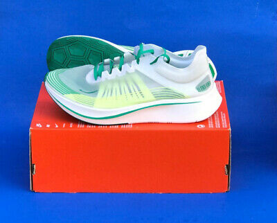 614d5f7da3e3d Mens Nike Zoom Fly Sp Running Shoes   Size 11.5   White-Lucid Green